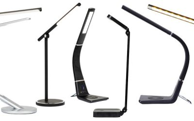 Desk lamps that multi-task
